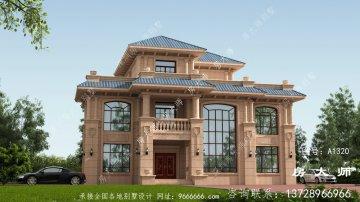 新三层别墅的设计方案色
