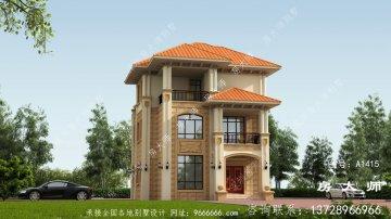 别墅的设计设计图,外观