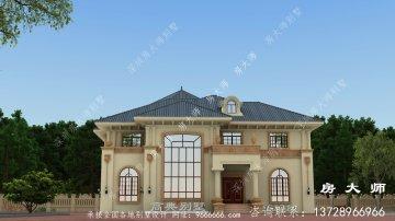 乡村意大利风格别墅设计图