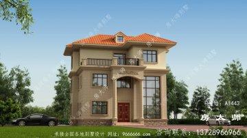 三层新农村建设房屋设计图,含外