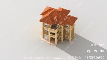 法式风格独栋别墅,建栋