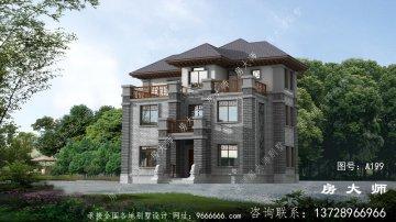 新中式风格别墅,中国传统建筑