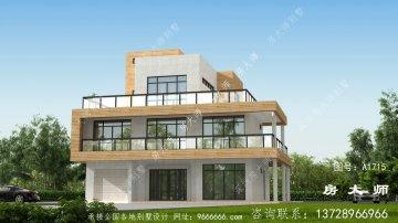 新农村现代别墅照片,全套设计图。