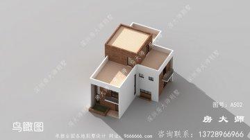 两层现代风格别墅设计效果图