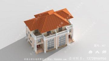 农村三层别墅房屋设计图
