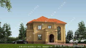 新农村两层欧式风格别墅