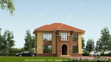 两层独特欧式风格别墅设