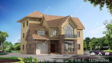 简易好用三层别墅设计图,外型挺漂亮
