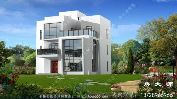 实用的三层别墅的设计图
