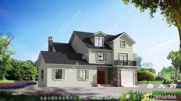 三层新农村别墅房屋设计图,外型简约清