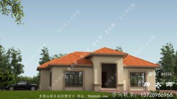 精致的农村欧式风格自建别墅设计