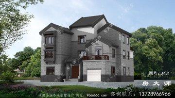 农村三层住宅设计,美观经济。