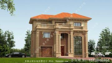 欧式三层复式别墅装修效