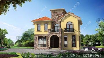新农村三层别墅的设计图非常好看。