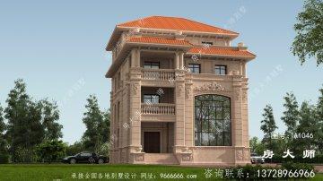 农村四层住宅设计,经济实用,时尚大方