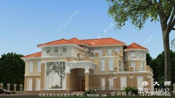 实用而漂亮的豪华欧式风格别墅
