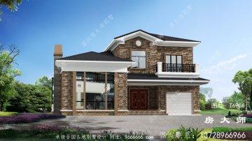 农村简欧两层别墅设计图