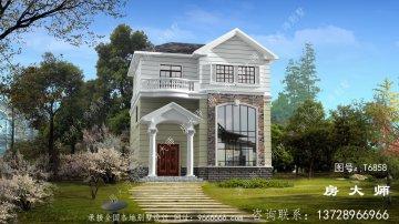 古典欧式风格别墅设计图