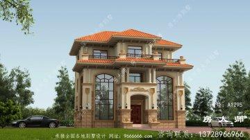 三层别墅设计图,小户型自建户型