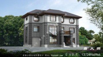 新中式经典三层独栋别墅