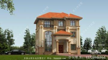 独栋别墅楼房设计图,合适乡