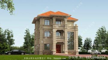 农村建别墅就要建这样的欧式风格别墅