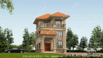三层法式风格小别墅效果
