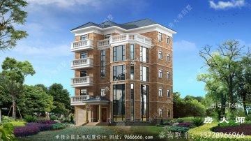 五层住宅设计图,好用和舒服,房
