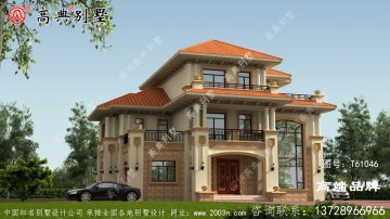 豪华建房别墅图