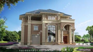 三层别墅设计图效果