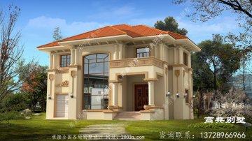 欧式二层别墅设计图