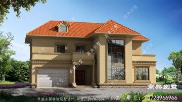 古典大气二层复式别墅