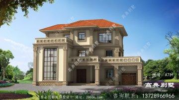 高档欧式三层别墅设计图
