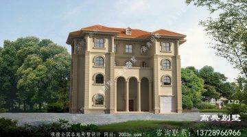 乡村别墅四层户型设计方案