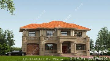 欧式风格二层别墅怎么建才好看?