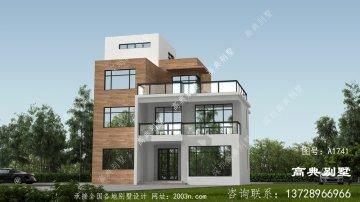 现代风格小别墅设计图纸