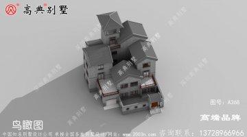 新中式三层别墅