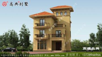 四层别墅设计效果图