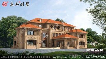 三层石材大别墅设计图纸