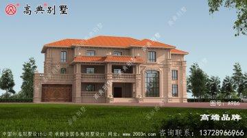 欧式石材大户型别墅