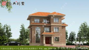 欧式风格三层小别墅设计