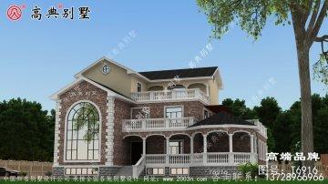 三层复式别墅楼房设计图