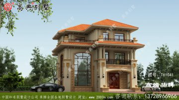 三层复式客厅别墅设计图