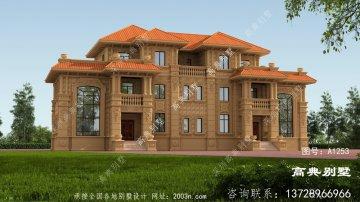 建经济实用的双拼欧式别墅
