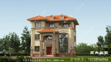 最值得建造的意大利风格三层别墅