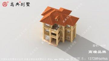 欧式简约三层别墅设计图