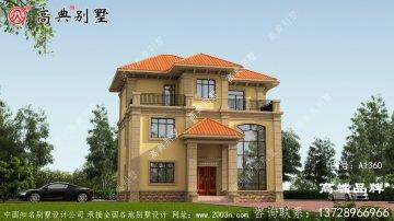 欧式风格三层舒适别墅设计图及效