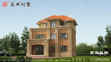 欧式风格三层经典大方别墅设计图