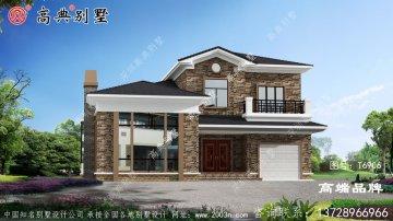 欧式风格两层别墅设计图及施工图