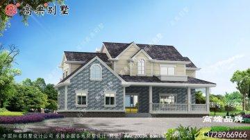 简欧风格二层别墅住宅设计图